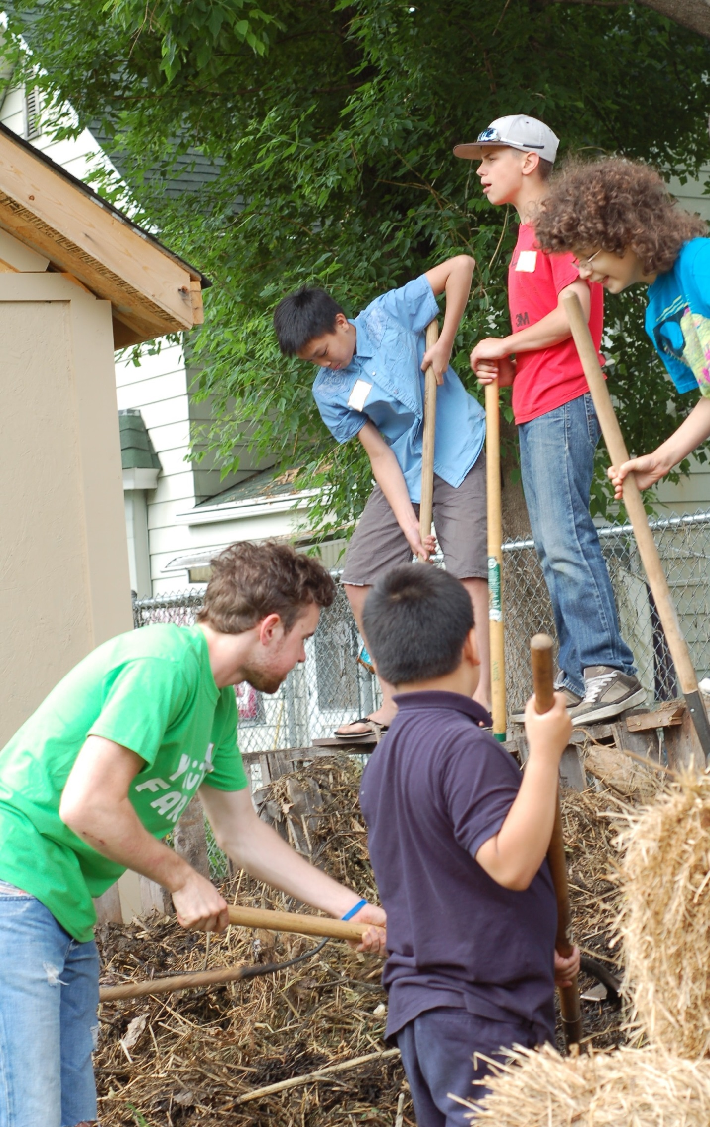 From Kale to Composting - The Youth Farm Experience
