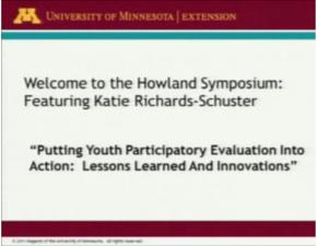 Youth Work Symposium
