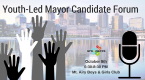 Youth Led Mayor Forum, Oct 5th