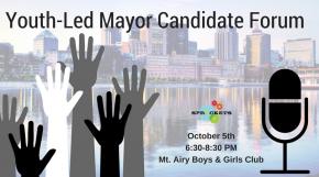 Youth Led Mayor Forum, Oct 5th