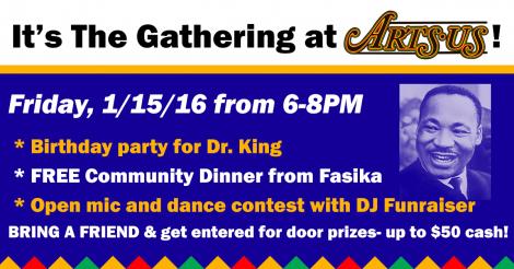Free Community Dinner + Celebration