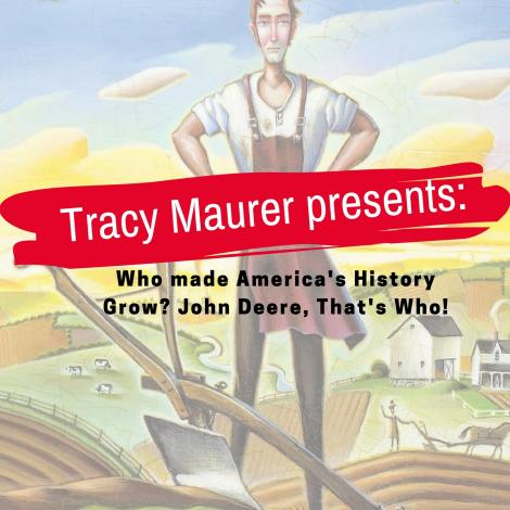 Author Tracy Maurer: John Deere