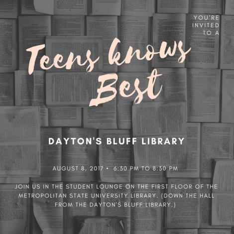 Teens Knows best