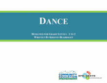Dance - Sprockets and SPPS Community Education OST Curriculum