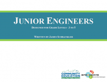 Junior Engineers - Sprockets and SPPS Community Education OST Curriculum