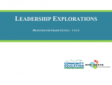 Leadership Explorations - Sprockets and SPPS Community Education OST Curriculum
