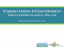Understanding U.S. Government Through Improvisational Theater - Sprockets and SPPS Community Education OST Curriculum