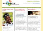 August 2014 Sprockets Newsletter